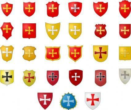 free vector The Coat of Arms