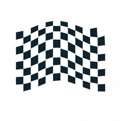 free vector Chequered flag icon 2