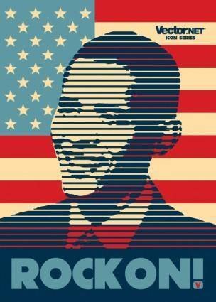 free vector Obama Poster