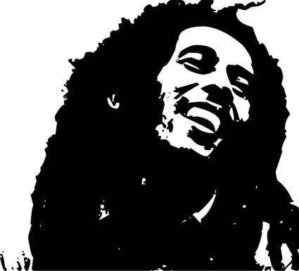 free vector Bob Marley