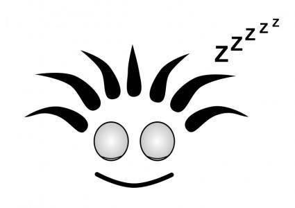 free vector Bob Sleeping