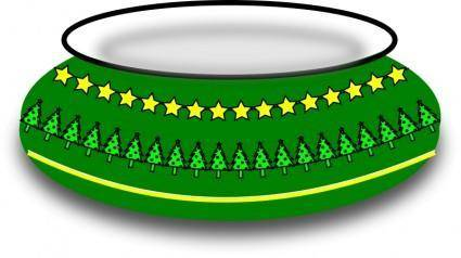 free vector Christmas Bowl