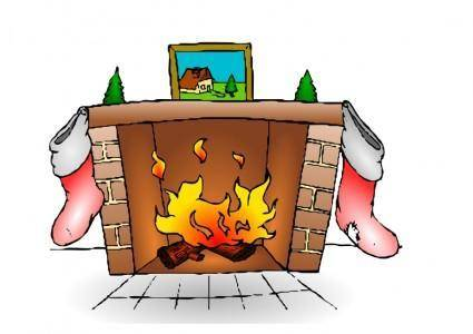 free vector Fire Place