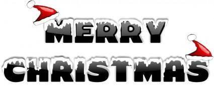 free vector MERRY CHRISTMAS 2010 (2)