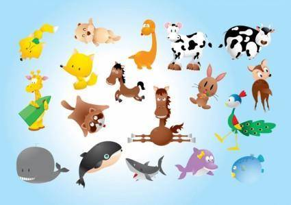 free vector Animal Comics