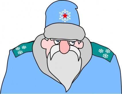 Colonel Frost - russian military Santa Claus