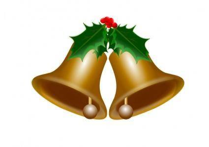 free vector Bells of Christmas