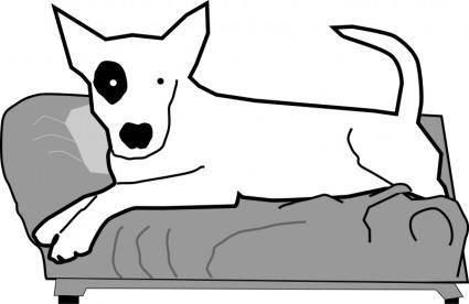 Bullterrier head, bujung,Bull terrier cartoon,dog Bullterrier 102321