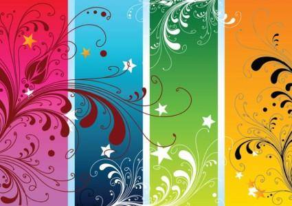 free vector Colorful Nature Vectors