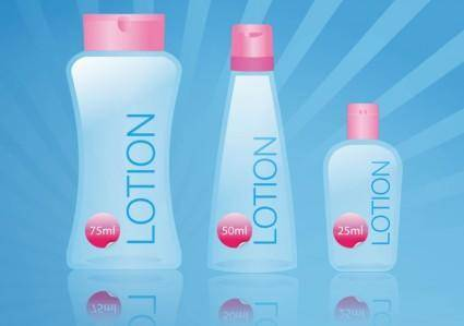 free vector Body Lotion
