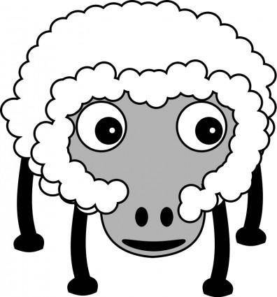 free vector Sheep002