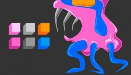free vector Tío Chobi palette revisated