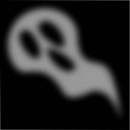 free vector Halloween Small Ghost