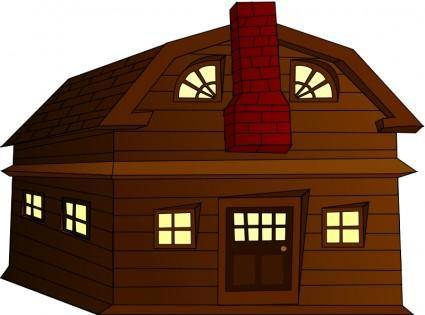 free vector Halloween Horror House Small