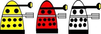 free vector Dalek