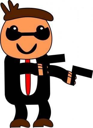 free vector The spy