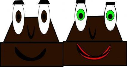 free vector Mr and mrs chocolate