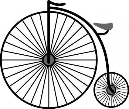 free vector Penny Farthing Bicycle