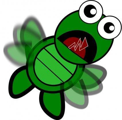 free vector Turtle-Flapping