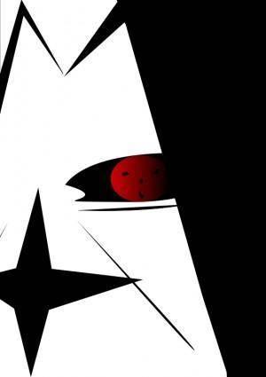 free vector Sasuke ichiha