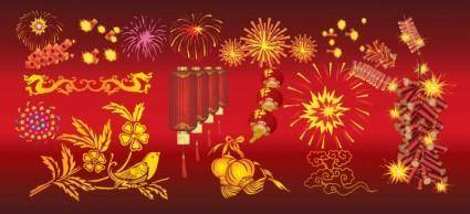 free vector Chinese New Year Celebration