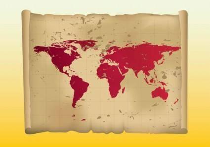 free vector Vintage Map