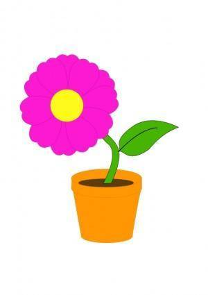 free vector Flowerandpot daniel ste r
