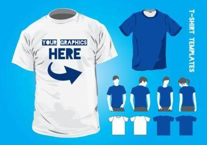 free vector T-Shirt Design Templates