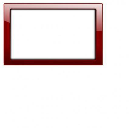 free vector Red Frame