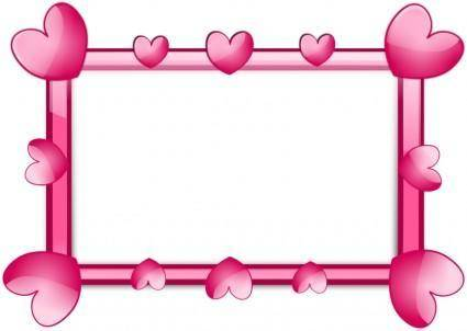 free vector Pink 2 Frame