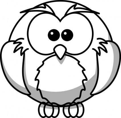 Owl Line Art