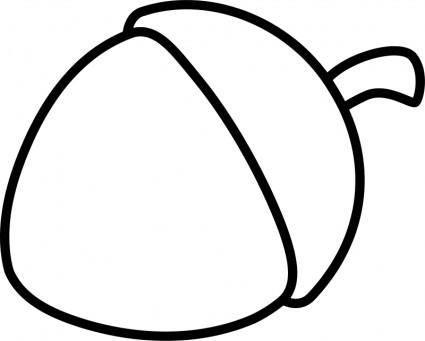 Nut Line Art
