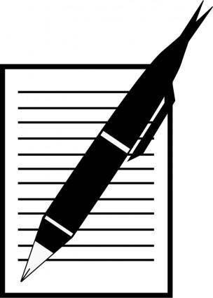 Paper,Write,Pen