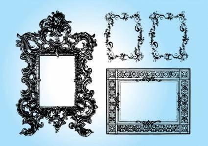 free vector Art Frames
