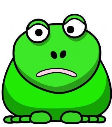 free vector Cartoon Frog
