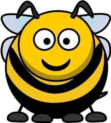 free vector Cartoon Bee