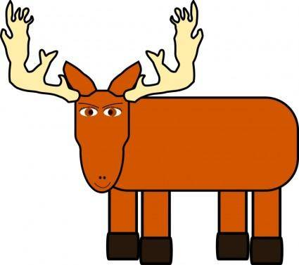 Cartoon moose remix