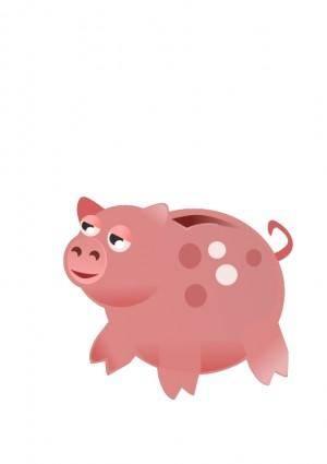 free vector Piggy Bank