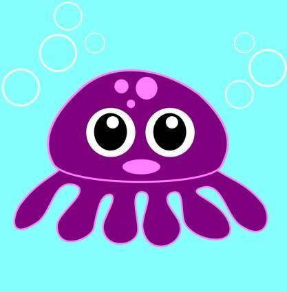 free vector Funny octopus