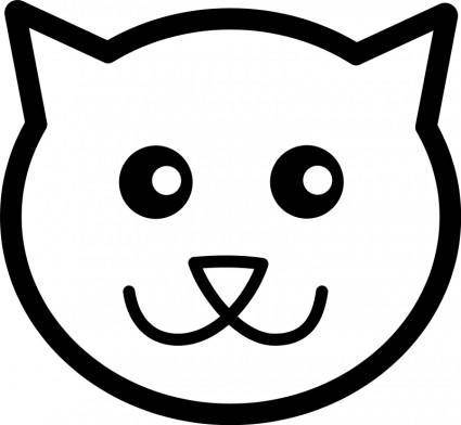free vector Cat Line Art
