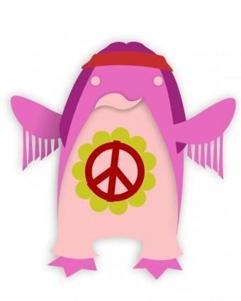 free vector Korora_hippie