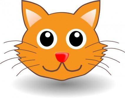 free vector Funny kitty face
