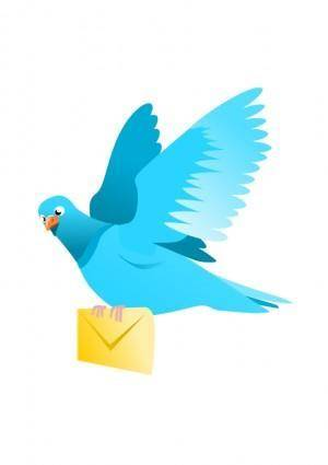 A Flying Pigeon delivering a message