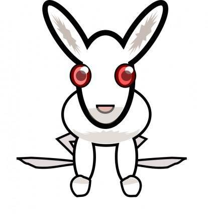 free vector White_rabbit