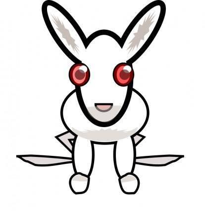 free vector White_rabbit