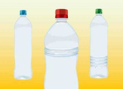 free vector Water Bottles