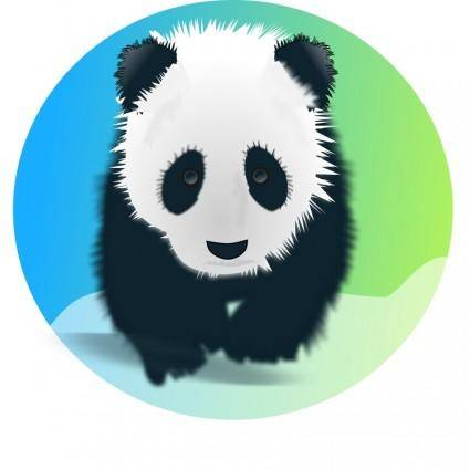 free vector Save the pandas