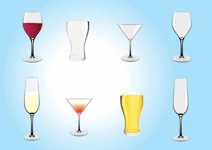 free vector Drinks Illustrations