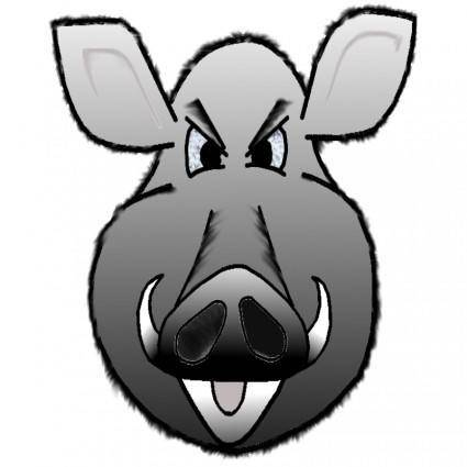 free vector Wild-sow