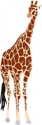 free vector Giraffe
